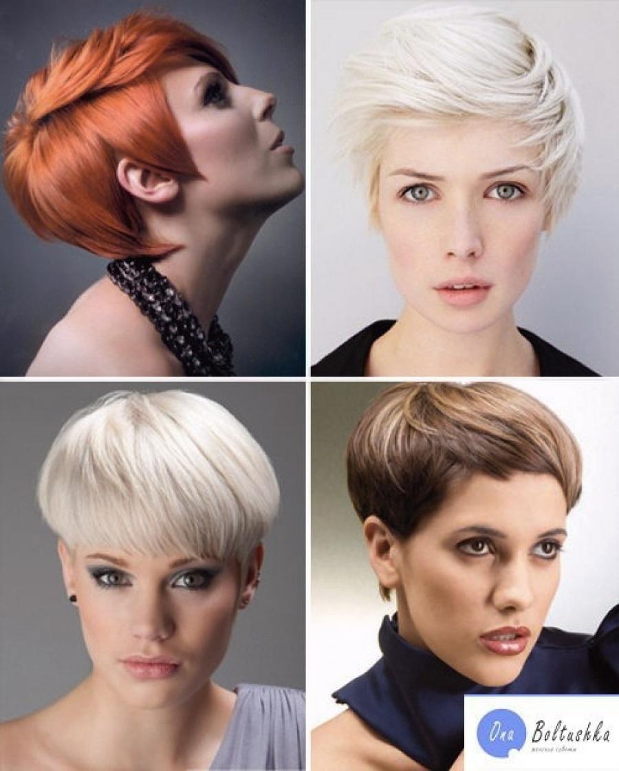 Модные стрижки на короткие волосы 2013
