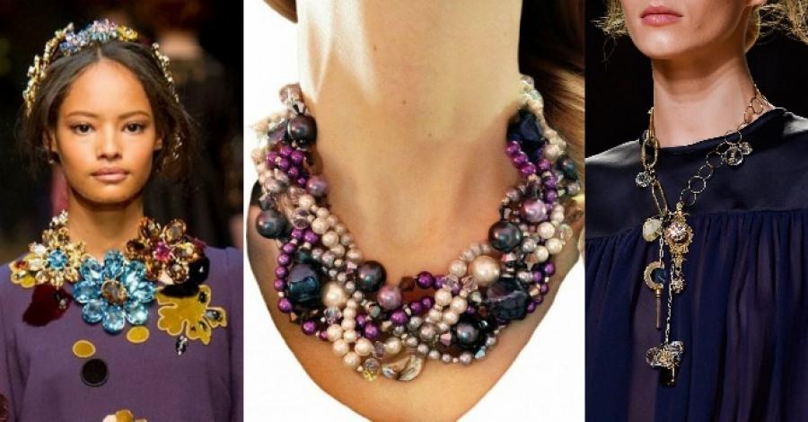 Модная бижутерия: стильные акценты нового сезона