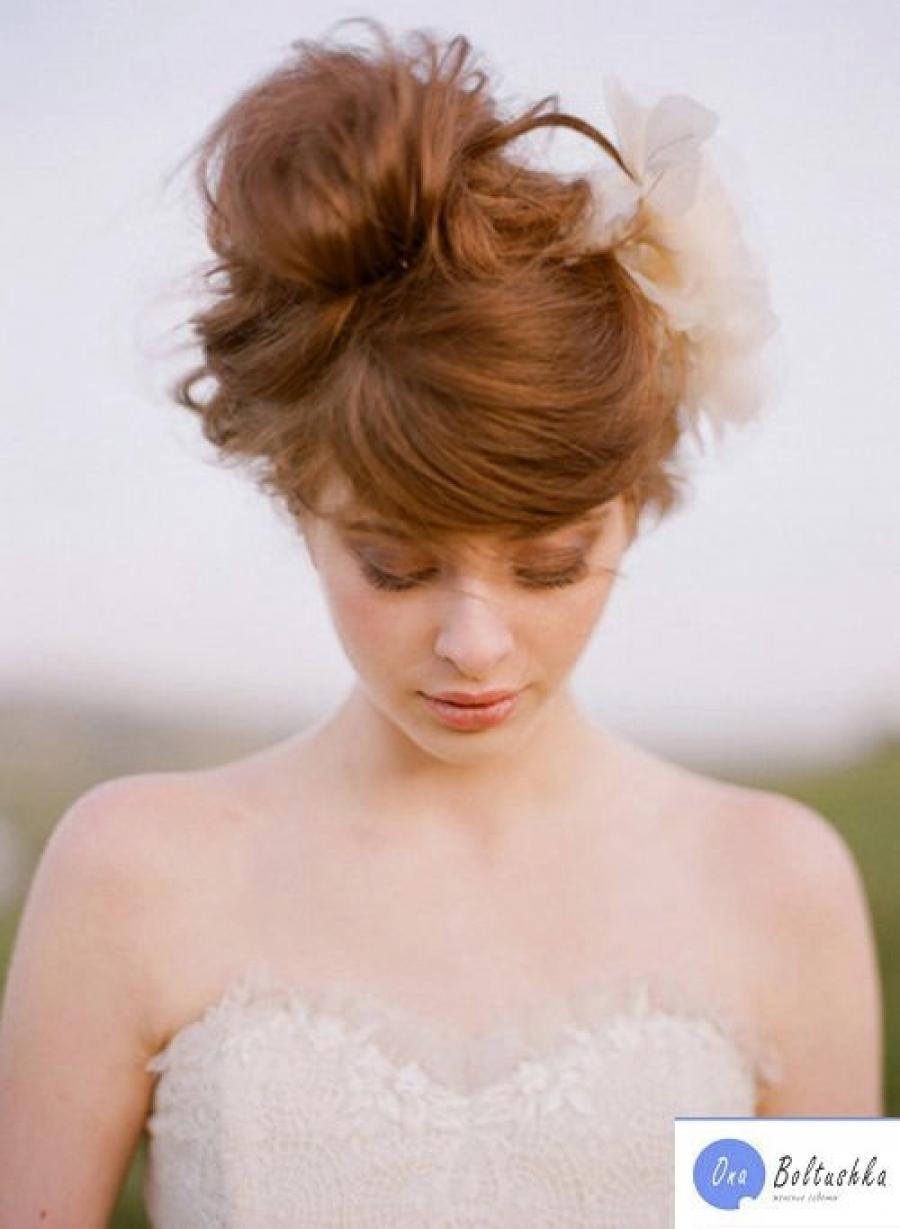 Рыжий цвет волос оттенки