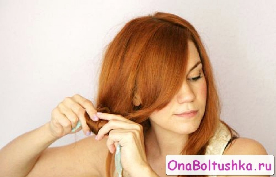 Как завить волосы на тряпочки