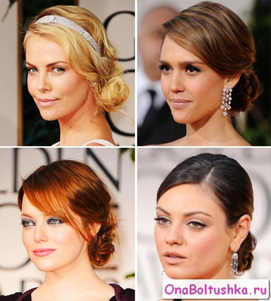 Женские прически на средние волосы фото