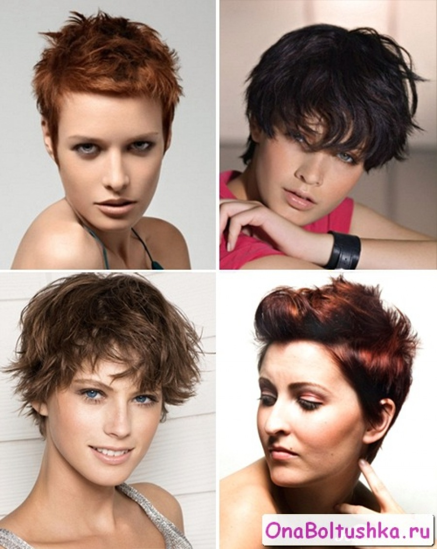 Прически на короткие волосы на каждый день