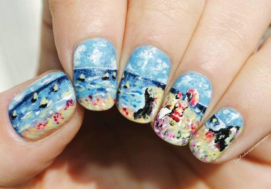 Шедевры живописи на ногтях — новый тренд в маникюре ...