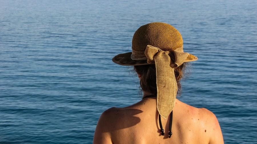 Женщина Шляпа Море Отпуск - Бесплатное фото на Pixabay